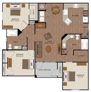 Two Bedroom Apartments Rentals In Spring Texas